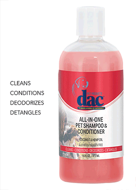 dac® Canine Coat Care Products